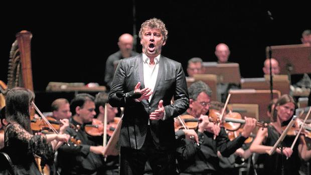 Jonas Kaufman, durante su recital en Peralada