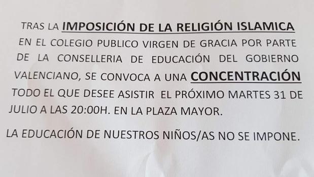 LA GENERALITAT IMPLANTARA LA RELIGION ISLAMICA EL PROXIMO CURSO EN VALENCIA Y ALICANTE