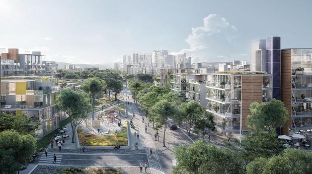 El horizonte de la nueva Castellana: obras a finales de 2019 y entrega de pisos en tres años