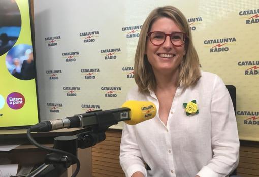 La consejera Artadi, hoy en Catalunya Ràdio