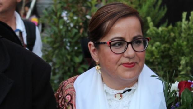 La concejal Manuela Nieto-Márquez se recupera en su domicilio de las heridas que le causó la agresión