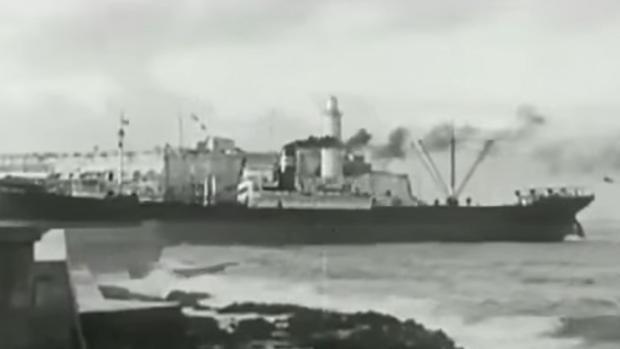 Puerto de La Habana en 1942