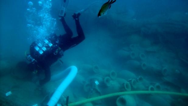 Imatge d'una visita subaquàtica