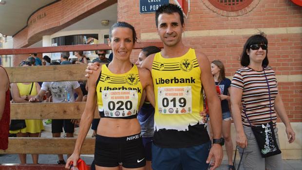 Victoria Pradilla y Jorge Rodríguez fueron primera y segundo en la XXXIV Joya de Fustiñana (Navarra)