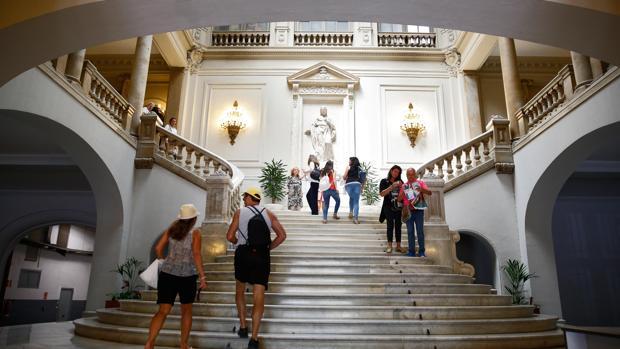 Imagen interior del Ayuntamiento de Valencia