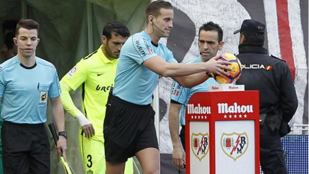Javier Alberola Rojas debutó la pasada temporada en Primera División