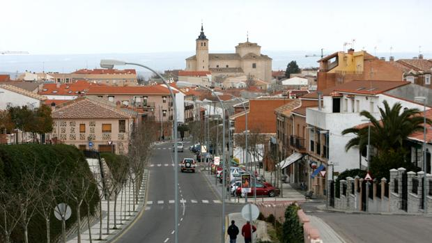 Vista de la Iglesia de Bargas (Toledo)