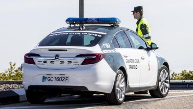 Patrulla de la Guardia Civil en Valencia