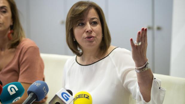 La secretaria xeral de Igualdade, Susana López Abella, en rueda de prensa