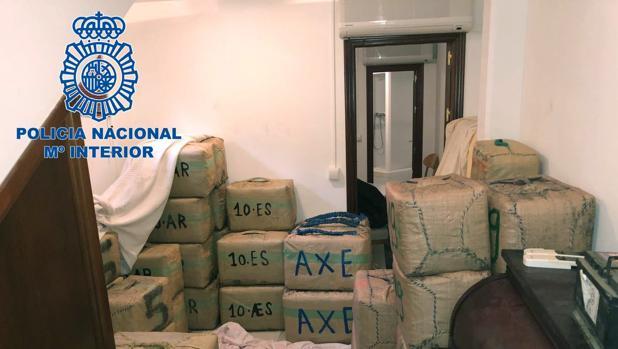 3.000 kilos de hachís en una operación antidroga en el Campo de Gibraltar