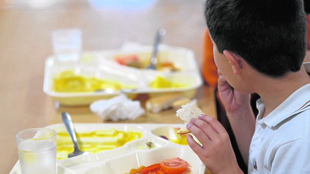 Las familias otorgan un 7,96 al servicio de comedor escolar