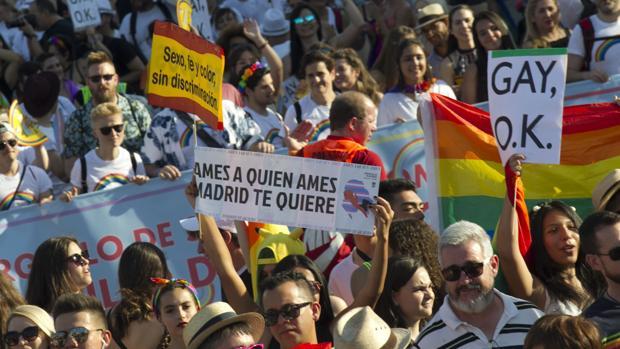 Imagen de archivo de la manifestación del día del Orgullo Gay