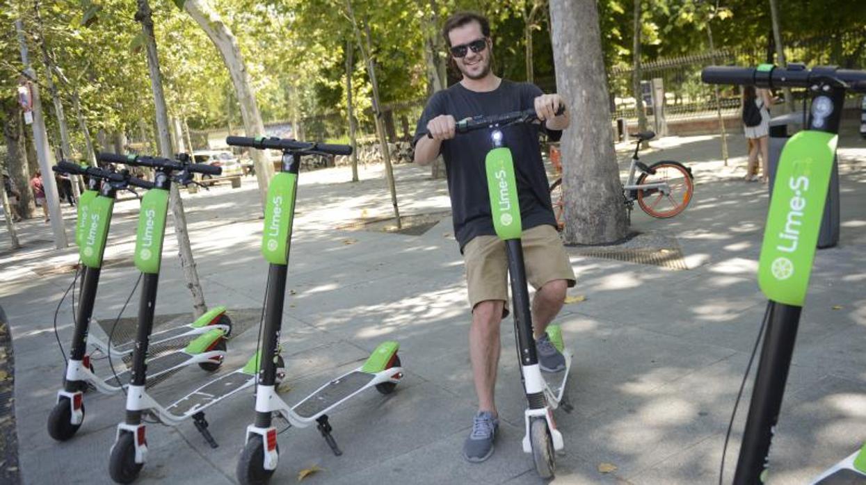 Los nuevos patinetes eléctricos podrán circular por las ciclocalles y carriles bici de Madrid