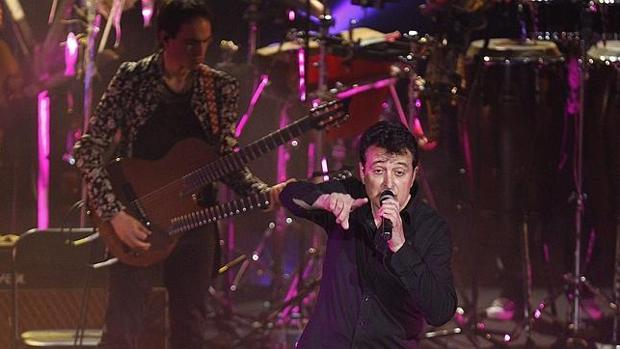 Imagen de uno de los conciertos ofrecidos por Manolo García