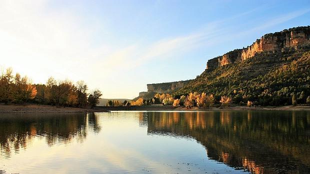 Embalse de La Toba, en la provincia de Cuenca