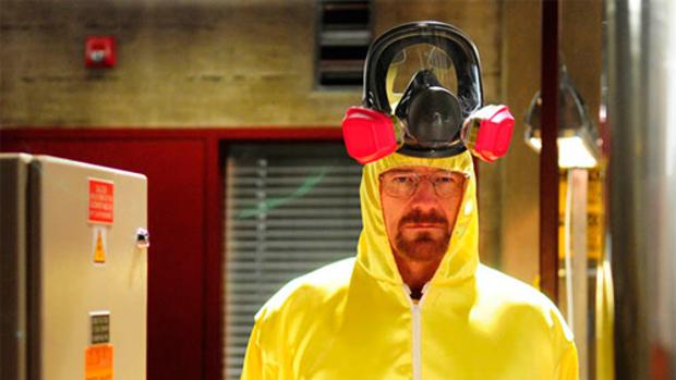 El protagonista de Breaking Bad, Walter White (Bryan Cranston), en un capítulo de la serie