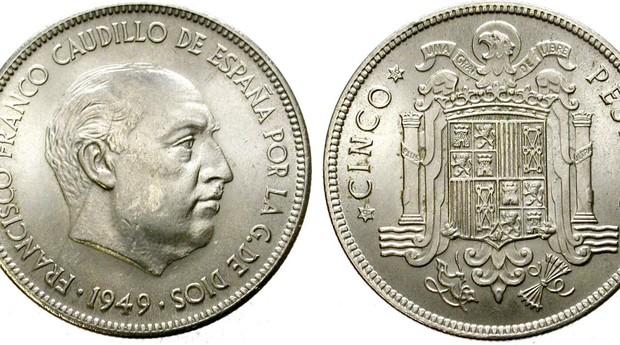 Fiebre «irreal» en las tiendas de numismática por las pesetas de Franco