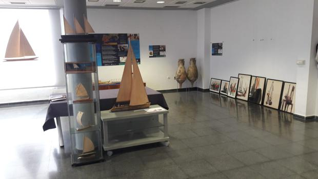 Obras en la exposición «Barcos»