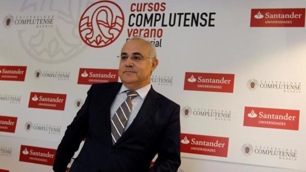 Pablo Llarena en San Lorenzo de El Escorial (Madrid), el pasado 25 de julio