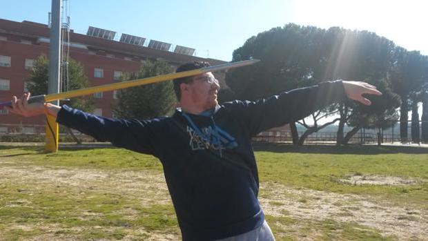 El atleta Héctor Cabrera, en una foto de archivo