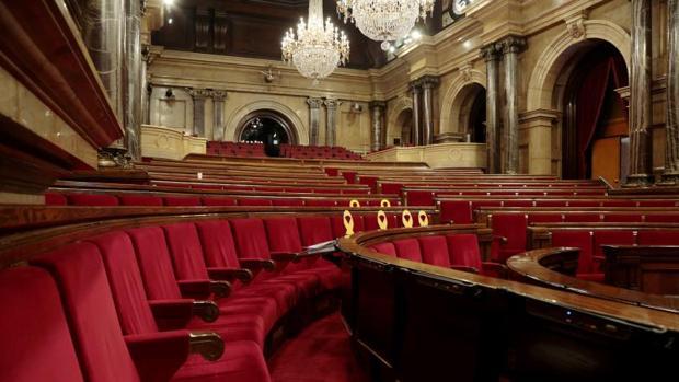 El parlamento autonómico catalán, vacío, en imagen de archivo