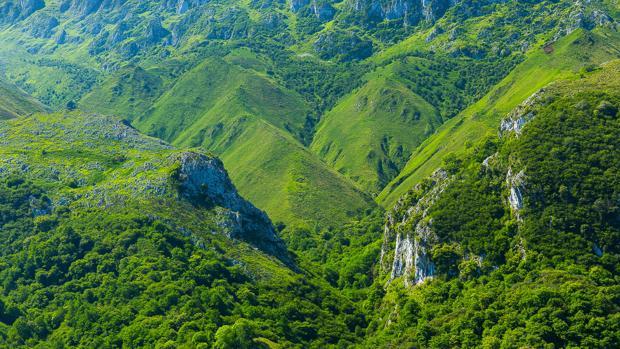 Los Picos de Europa en Asturias