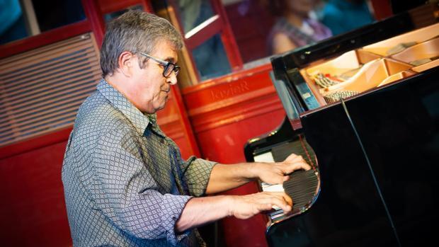 El pianista Chano Domínguez, la semana pasada en el Central