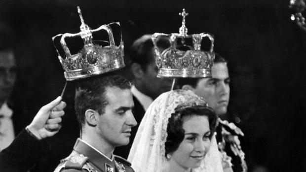 Juan Carlos y Sofía se casaron el 14 de mayo de 1962