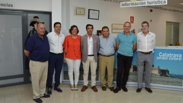 Patricia Franco ha asistido a la reunión de trabajo del Plan de Turismo de la Asociación Campo de Calatrava