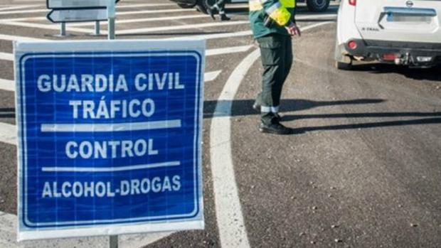 Control de la Guardia Civil en Cuenca