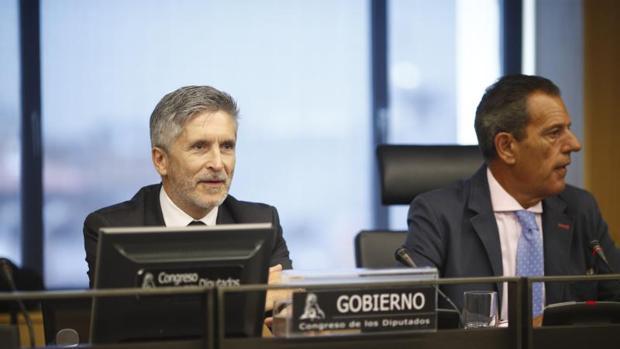 Comparecencia de Grande-Marlaska en la Comisión de Interior en el Congreso este miércoles