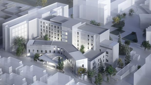 798a3d14d Madrid Nuevo aspecto que tendrá el Centro Oncológico Priíncipe de Asturias