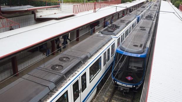 Las muestras ambientales tomadas en las estaciones descartan que haya riesgo para la salud de los pasajeros