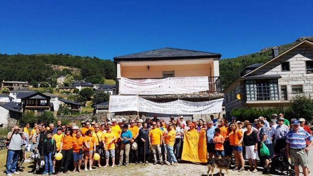 Reivindicación de los vecinos de Porto, tras la votación