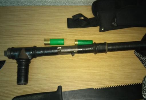 El arma de fuego y las postas