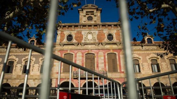 Fachada del Parlament de Cataluña