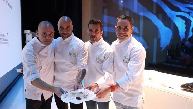 Imagen de los chefs participantes en el Dolia 2018