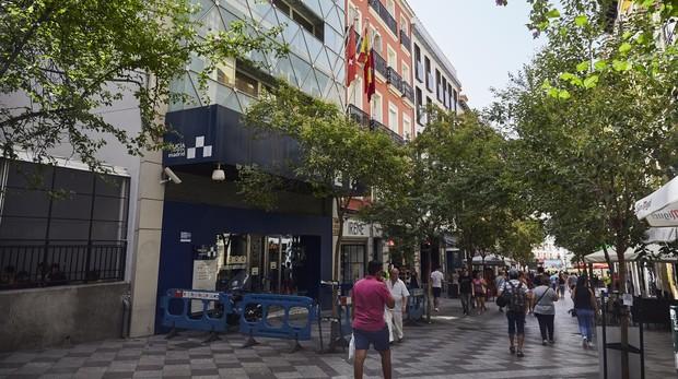 El intento de robo se produjo el martes el la calle de la Montera
