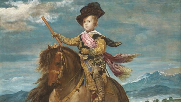 «El príncipe Baltasar Carlos, a caballo»