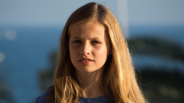 La Princesa de asturias, este verano en Palma de Mallorca
