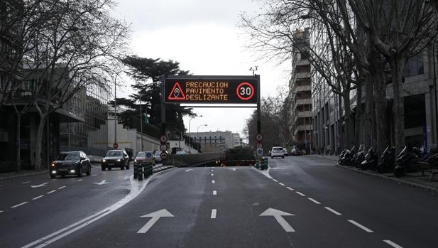 Túnel de María de Molina, ya reabierto al tráfico