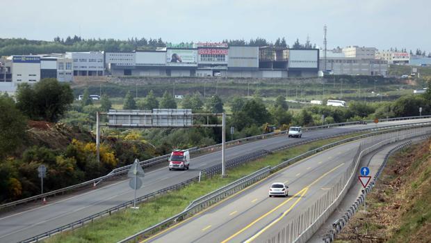 Imagen de la Autopista del Atlántico, la AP-9