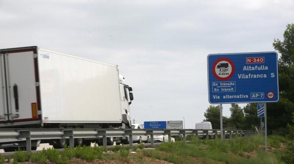 El Senado debate este martes la supresión del peaje en la autopista AP-7