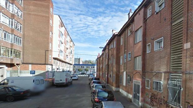 El suceso tuvo lugar en la calle Ebro, en el barrio vallisoletano de Las Viudas