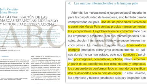 Artículo original supuesto plagio tesis de Pedro Sánchez