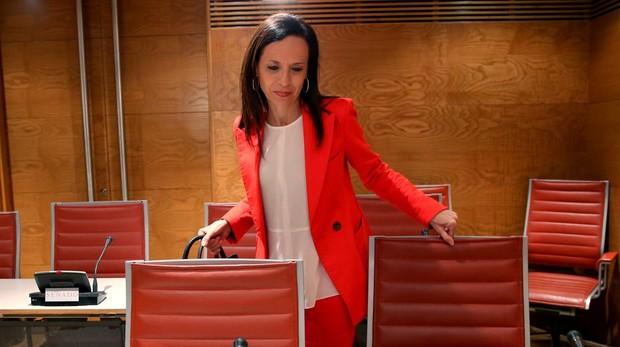 La exministra Beatriz Corredor, en el Senado
