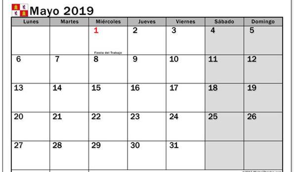 El calendario laboral de 2019 en Castilla y León traslada dos fiestas al lunes