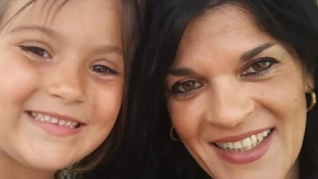 Ana María y su hija Alba
