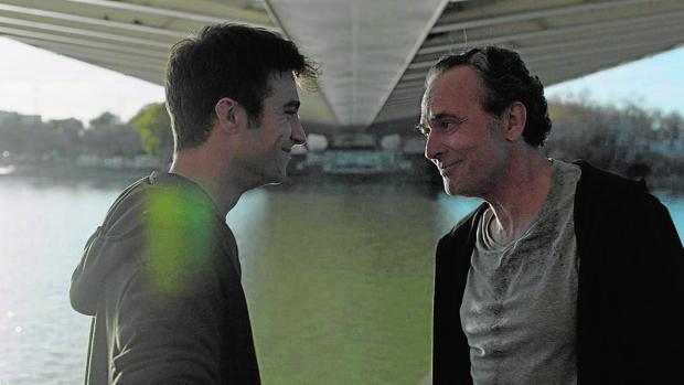 Escena de la película «Tu hijo», con José Coronado, que inaugurará la Seminci