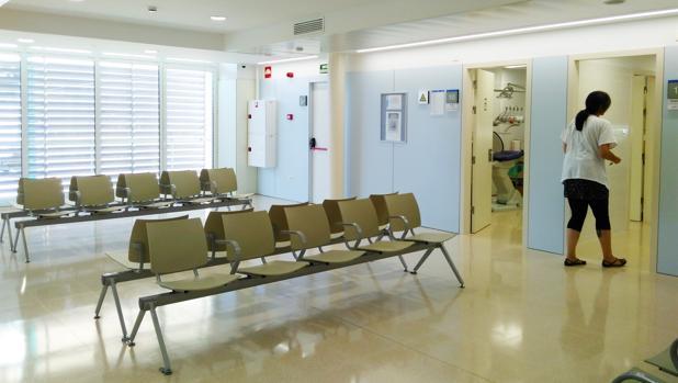 Una sala de espera de un CAP
